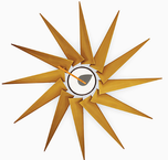 Mid Century Style Clocks & More