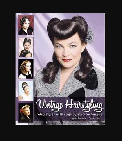 Vintage Retro Hair Style Book