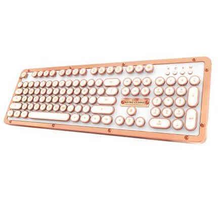Retro Bluetooth Keyboard