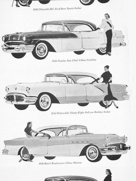 Classic Cars From The 1940's and 1950's   RETRO EYE CANDY VOL 1