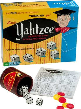 Classic Retro Yahtzee Game