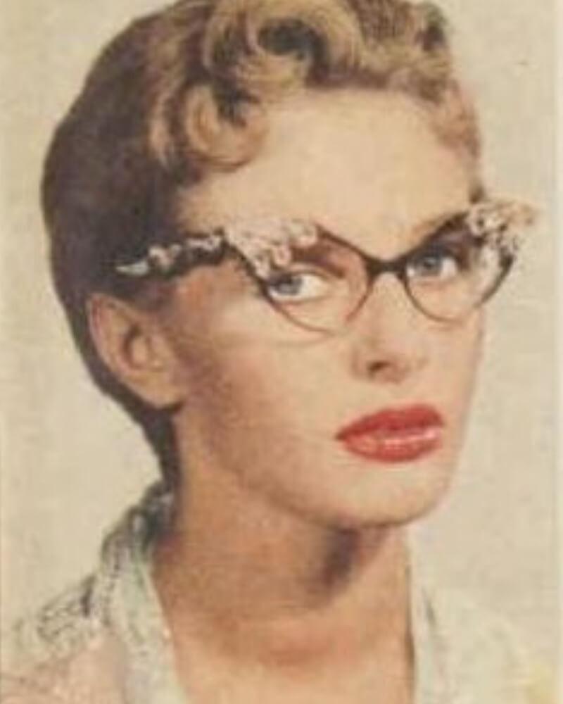 50 Style Retro Cats eye Glasses