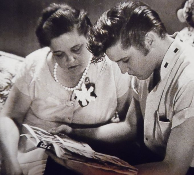 Elvis and Mother