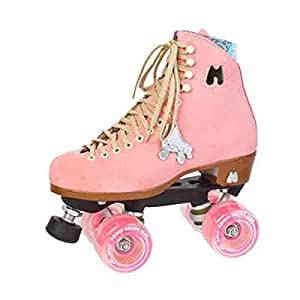 Moxi Pink Rollerskates