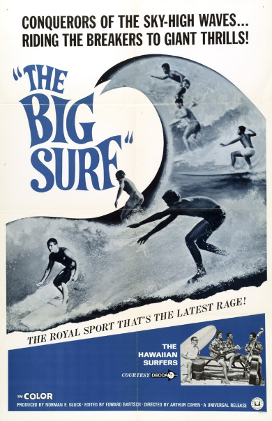 60's the big surf pop culture