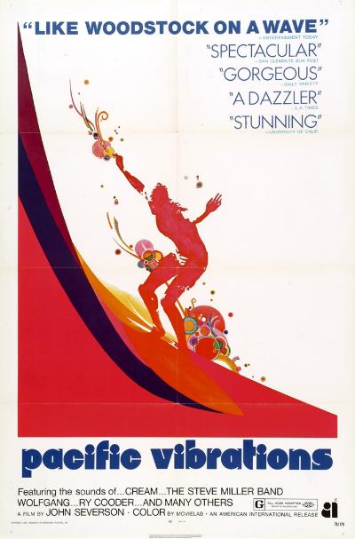 surf pop culture 1960s print