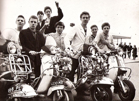 1960s Mod Scooter Culture