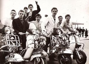 1960s Mod Scooter Culture