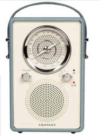 Retro Radio Bluetooth Receiver.
