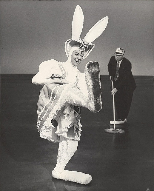 Doris Day Dressed as Easter Bunny Image from We Heart Vintage