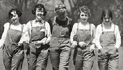 1940s war worker clothing