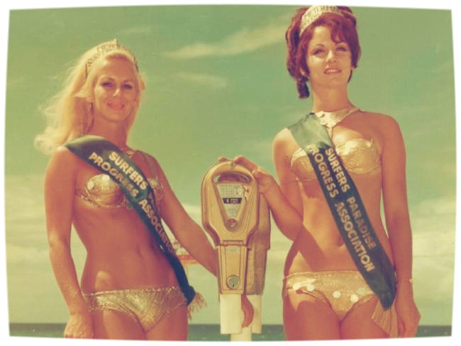 1960s pop culture metermaids surfers paradise