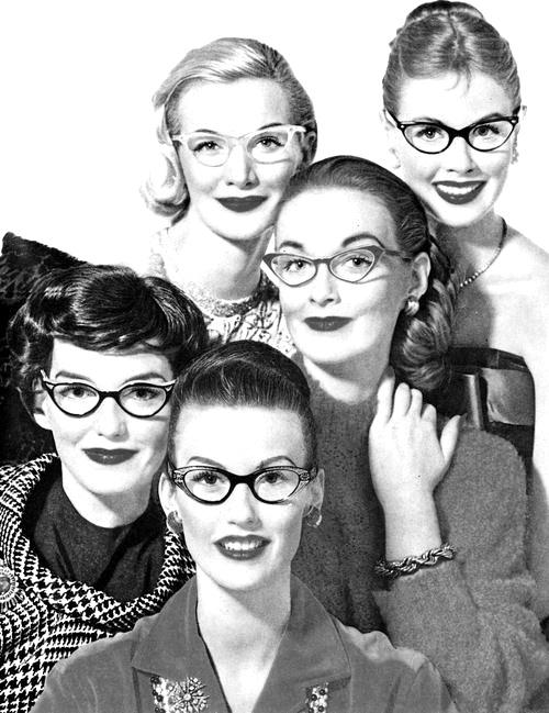 Retro Style: Cats Eye Glasses