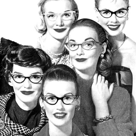 Retro Style: Cats Eye Glasses