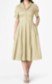 50s Empire Waist Dress