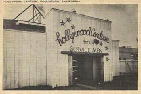 Hollywood canteen entrance