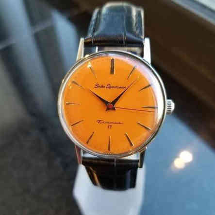 1960s Mens Seiko Watch
