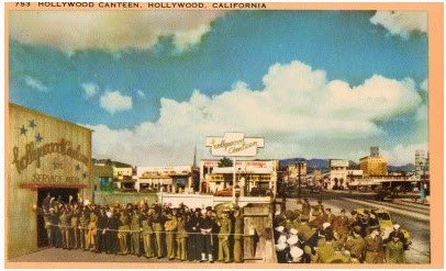 Hollywood Canteen Postcard