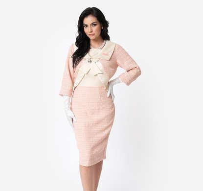 Jackie O Style Sheath Dress and Jacket