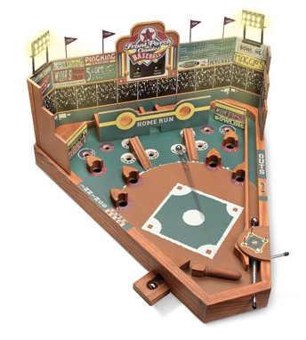 Old Fashioned Pinball Baseball Game