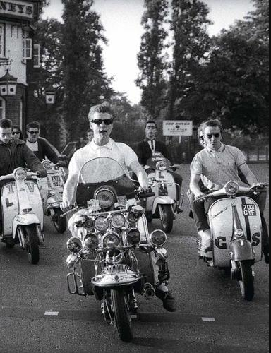 Sixties Mod Scooters