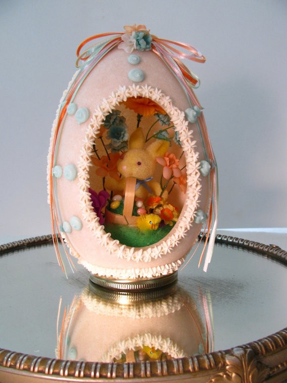 Vintage Sugar Egg Image from Etsy