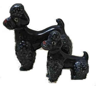Vintage Poodle Figurines