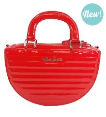 Retro Ruby Red Bag