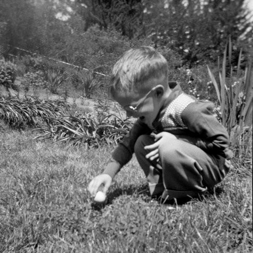 50s Easter Egg Hunt Image from Shorpy