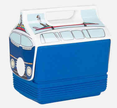 Retro VW Bus Drinks Cooler