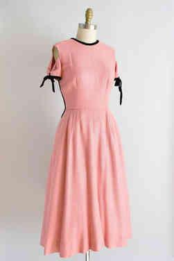 Genuine 50s Pink Dress