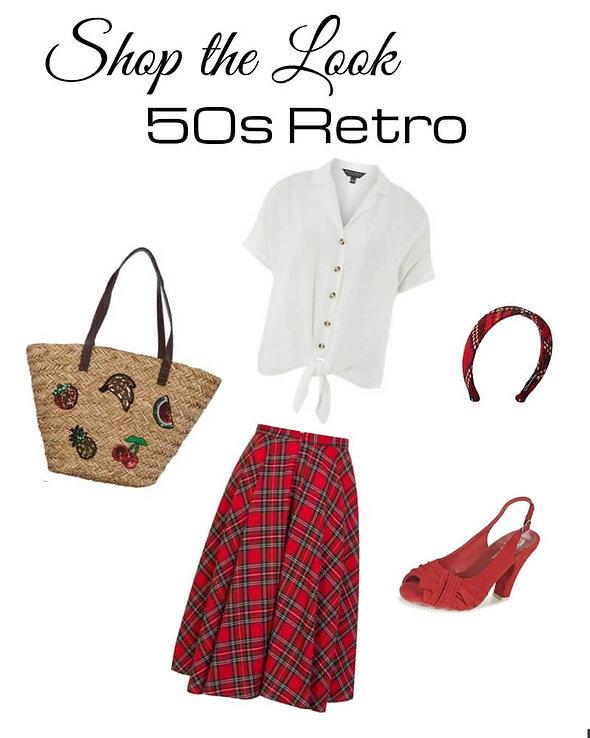 50s retro shop the look