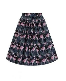 flamingo circle skirt