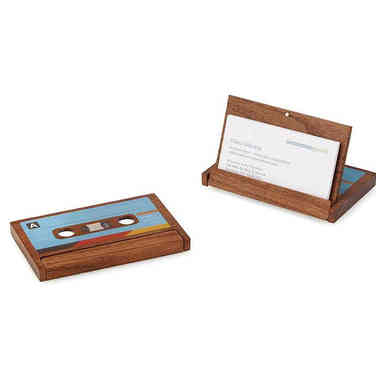 Retro Business Card Case
