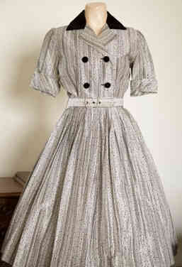 Genuine 1950s Flaired Dress