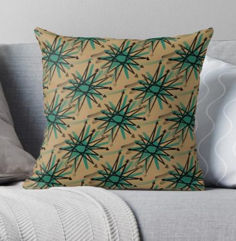 starburst pillow