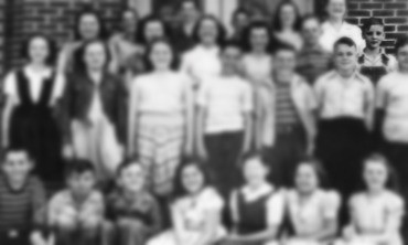 Elvis Grade School Class Photo Age 11