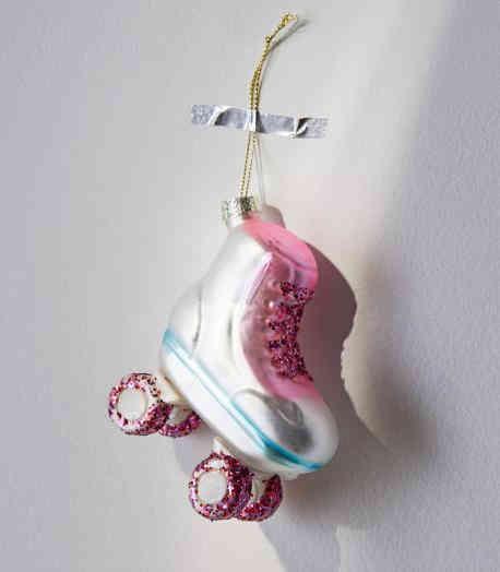 Rollerskate Christmas Ornament
