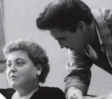 Elvis and his Mum