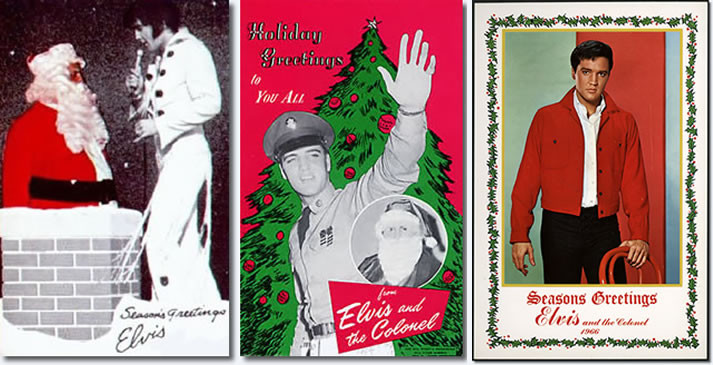 Holiday greetings from Elvis