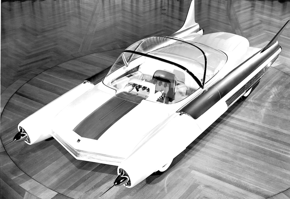 Futuristic Dream Car From The Fifties