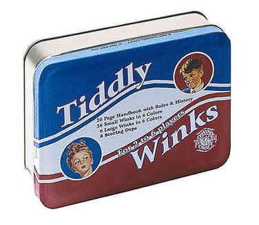 Classic Retro Game Tiddly Winks