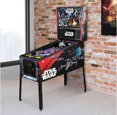 Retro Star Wars Pinball Arcade Game