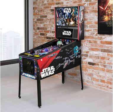 Retro Star Wars Pinball Arcade Game