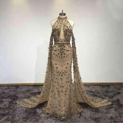 Luxury Vintage Beaded Gown
