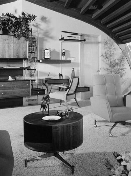 Retro Home Decor - 50s & 60s Living Rooms