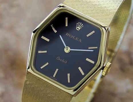 1970s Ladies 18k Rolex