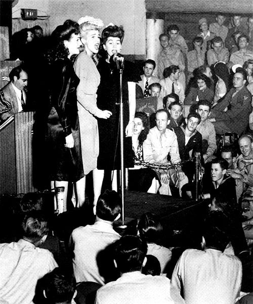 The Andrews Sisters Hollywood Canteen