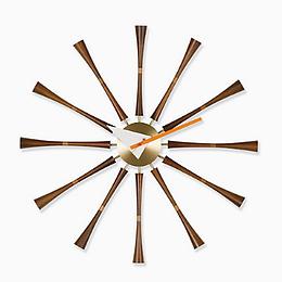 Mid Century clock,Atomic retro clock,Nelson Clock