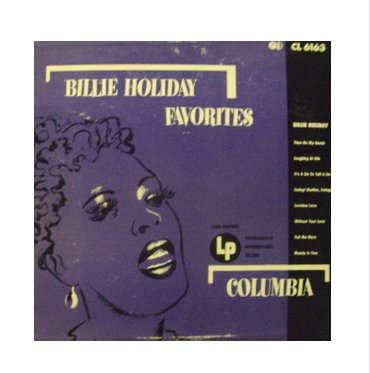 Billie Holiday Original Vinyl Record